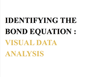 Identifying the Bond Equation : Research Methodology