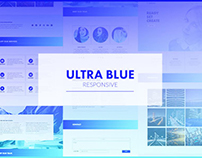 Ultra Blue - Responsive Muse Template