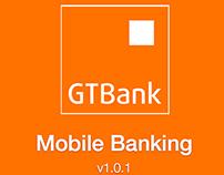 GTB Bank iOS APP redesign