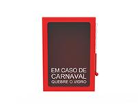 """Caixa de """"Emergência"""" de Carnaval"""