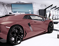 Lamborghini The Story Graduation Project
