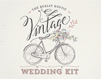 Really Rustic Vintage Wedding Kit