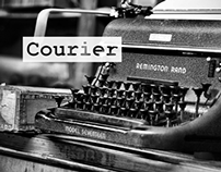 Poster Design_Courier font