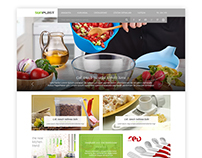 SUNPLAST Web Site Design
