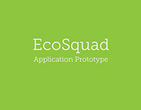 EcoSquad Application Prototype