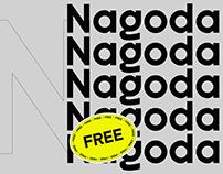 Nagoda - Free Modern Display Font