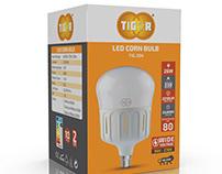 TIGOR LED Bulbs Packaging Design