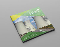 Go Green Water Treatment - Brochure Design