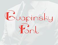 Guapinsky Font (free)