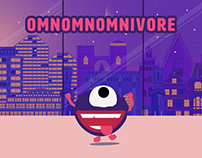 Omnomnomnivore - game for Kinect