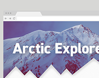 Arctic Explorer - Website WIP
