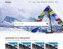 Travel Web Design: Project Dulwa