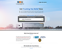 Tax Releif Landing Page