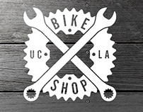 UCLA Bike Shop Identity