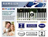 Ramsign - Web design