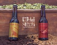 """Packaging ed etichette """"La prima sorsata di birra"""""""