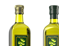Olive Oil - 3D Packaging Visualisation