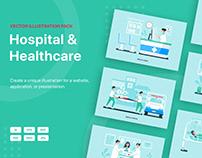 Healthcare Vector Scenes