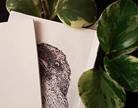 Inktober 2019 Bookbinding Prototype