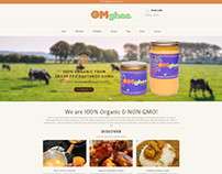 eCommerce store for Organic Ghee