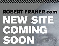 RobertFraher.com Coming Soon - Responsive