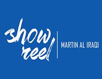 show reel martin al iraqi 2016