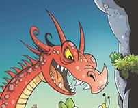 Daizyvale comics cover (komiks Sedmikraskov)