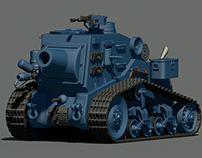 Cartoony Tank