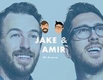 Jake & Amir (Branding Concept)