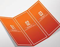 Tri-Fold Brochure Mock Up