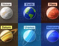 Illustration Challenge: Planets