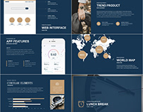 business Bridge PowerPoint template