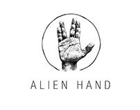 ALIEN HAND. Logo
