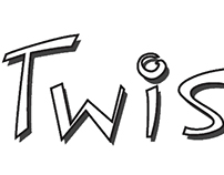 Twisted logo design