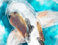 Digital Watercolour Studies || Digital Art