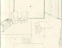Dichotomy sketchbook sketches