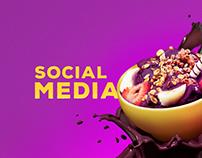 Social Media Art - Rock's Power Açaí