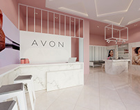 The first Avon showroom in Ukraine