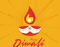 Diwali vector free download template