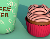 Packaging modeling - Coffe Break!