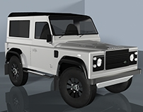 Land Rover Defender 2015 Model