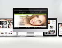 WEBSITE DESIGN - Airbase Make-Up