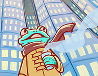 Little Frog Big City