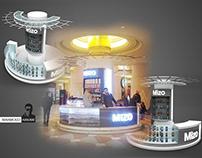 Mizo booth in Citystars mall . Egypt