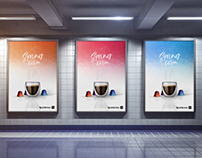 Nespresso Spring edition Full Branding