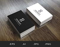 L004 - Ice Eight Number Eight Logo Template