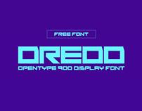 DREDD - FREE FONT
