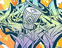 Themeaseven Digital Wildstyle Graffiti