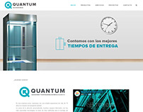 Website Elevadores Quantum