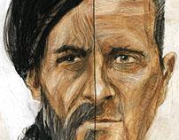 Portret Saladin vs Asad for Historicum mag